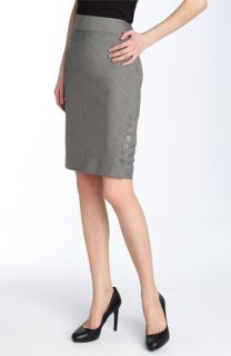 Ted Baker London Vanni Herringbone Pencil Skirt