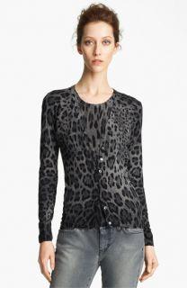 Dolce&Gabbana Leopard Print Cardigan