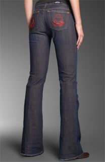 Rock & Republic Roth Flare Leg Stretch Jeans (Turmoil Pink)