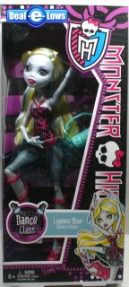 Monster High Dance Class Set of 4 Howleen Lagoona Robecca Operetta in