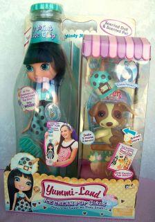 Yummi Land Doll Ice Cream Pop Soda Mindy Mint Chocolate Large 13 New