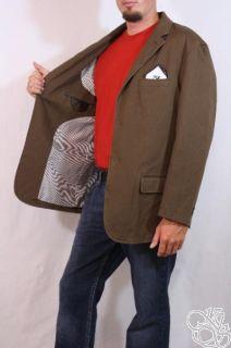 Cremieux Classics Dark Honey Blazer Sports Coat Mens Jacket $150 Size