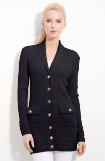Tory Burch Marcia Shawl Collar Merino Wool Cardigan