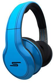SMS STREET MONSTER BEATS by 50 Blue Classic Style Headphones