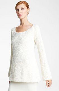 Donna Karan Collection Bouclé Wool & Cashmere Sweater