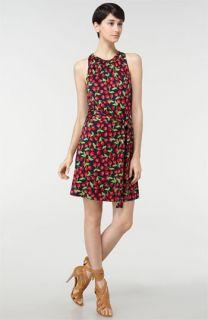 Tory Burch Flinnia Interlock Silk Jersey Dress