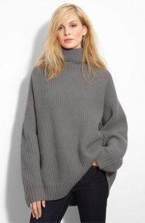 Leith Fisherman Oversized Cashmere Turtleneck Sweater