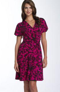 Lily Faux Wrap Jersey Dress