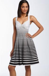 Calvin Klein Crisscross Strap Stretch Cotton Dress