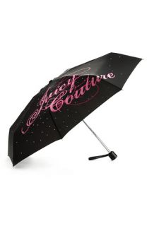 Juicy Couture Compact Rhinestone Umbrella