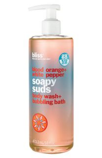 bliss® Blood Orange + White Pepper Soapy Suds Body Wash + Bubbling Bath ($36 Value)