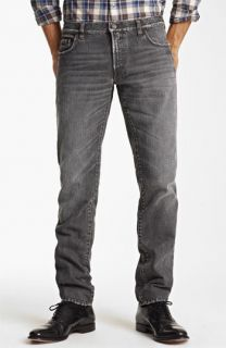 Dolce&Gabbana Slim Straight Leg Jeans (Dark Grey)