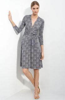 Tory Burch Vanessa Interlock Silk Jersey Dress