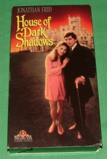 Very Good Vintage 1970 House of Dark Shadows VHS Jonathan Frid