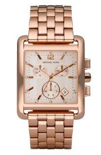 Michael Kors Rectangle Case Chronograph Watch