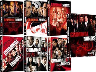 Criminal Minds Seasons 1 7 DVD 2012 42 Disc Set