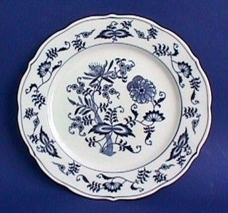 Vintage BLUE DANUBE Mark China / BLUE ONION Pattern Dinnerware PLATE