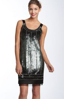 Pisarro Nights Sequin Shift Dress