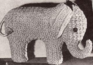 Large Elephant Knitting Pattern : ANIMAL PATTERN FABRIC   FREE Knitting PATTERNS