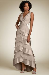 Tadashi Long Tier Dress