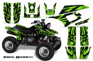 Yamaha Warrior 350 Graphics Kit Decals Stickers TMG