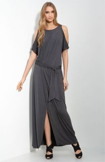 Jay Godfrey Fontaine Belted Maxi Dress