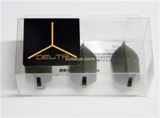 Cosmo Darts Fit Flight Delta Set of 3 Super Slim Black