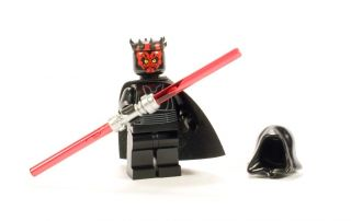 Youre bidding on one LEGO STAR WARS Darth Maul minifigure, complete
