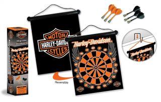 Harley Davidson Magnetic Darts Set