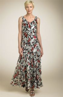 Jones New York Collection Tropical Floral Dress