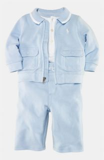 Ralph Lauren Bodysuit, Pants & Jacket (Infant)