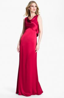St. John Collection Liquid Satin Gown