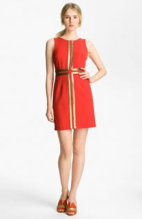 Tracy Reese Couture Cloth Gold Appliqué Shift Dress
