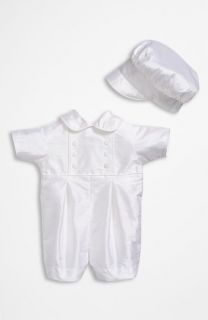 Little Things Mean a Lot Dupioni Romper (Infant)