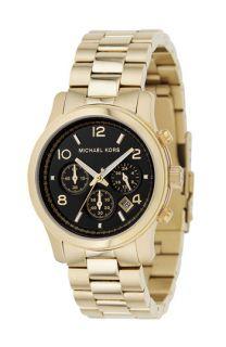 Michael Kors Gold Catwalk Chronograph Watch