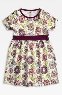 Tea Collection Banded Print Dress (Big Girls)