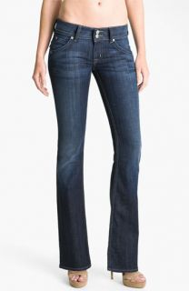 Hudson Jeans Triangle Pocket Bootcut Stretch Jeans (Bowery) (Petite)