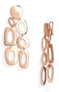 Ippolita Lite Links Large Multi Shape Rosé Chandelier Earrings