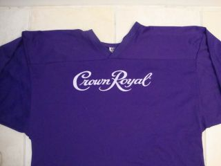 Crown Royal Liquor Whiskey Whisky Hockey Jersy L XL