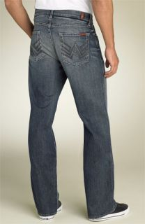 7 For All Mankind® Super A Relaxed Fit Jeans (Chesapeake Wash) (Long)
