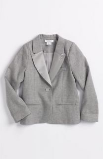 Chloé Sateen Lapel Twill Blazer (Little Girls & Big Girls)