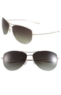 Oliver Peoples Strummer Metal Aviator Sunglasses