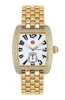 Michele Urban Mini Diamond Bracelet Band Watch