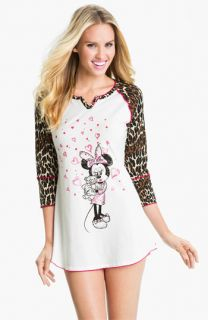 Betsey Johnson Minnie Stretch Cotton Sleep Shirt