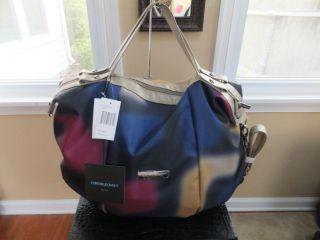 Cynthia Rowley Extra Large C R 18 Satchel Durable Multi Color Handbag
