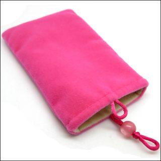 New Cell Phone Mobile Soft Velvet Sleeve Case Pouch Bag