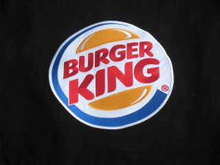 David Reutimann Burger King Cotton Twill MEDIUM Jacket By Chase