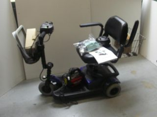 P3 Cruiser Lightweight Electric Mobility Scooter needs repair