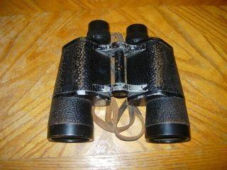 Carl Zeiss U.S. Navy BU Ships Binoctar Binoculars 7x50 Jena WWII 1942
