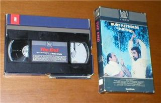 the end burt reynolds vhs original 1978 fox box